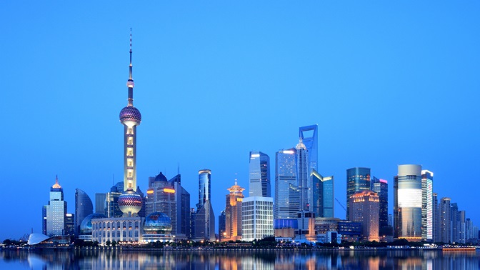 Shanghai's skyline