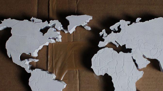 Aussenpolitische Entscheidungen, Weltkarte