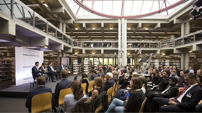 47. St. Gallen Symposium: öffentlicher Teil in der HSG-Bibliothek